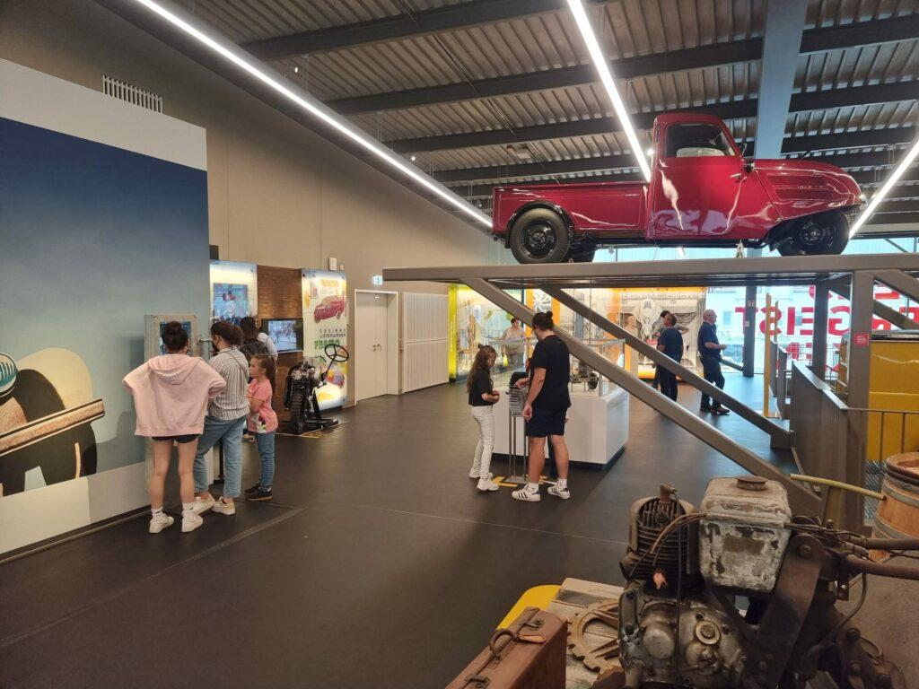 Erlebnismuseum ZeitWerkStadt Besucher Frankenberg
